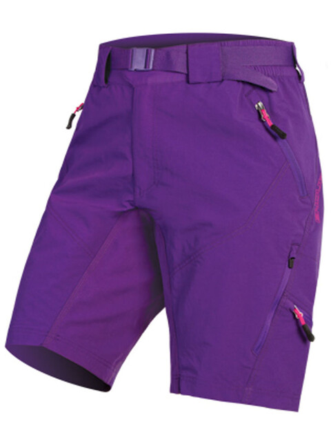 Endura Hummvee II Shorts Women Purple